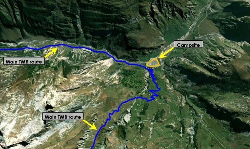 Mont Blanc Camping