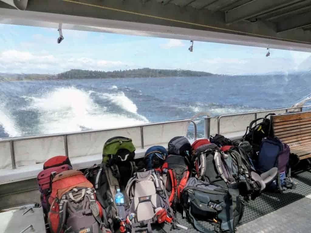 Te Anau Downs to Glade Wharf