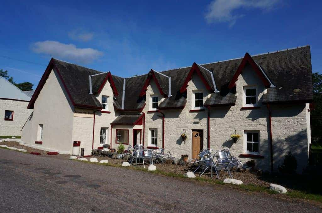West Highland Way lodging